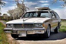 Pontiac Safari Station Wagon Woody
