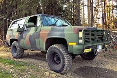 Chevrolet Blazer K5 / M1009